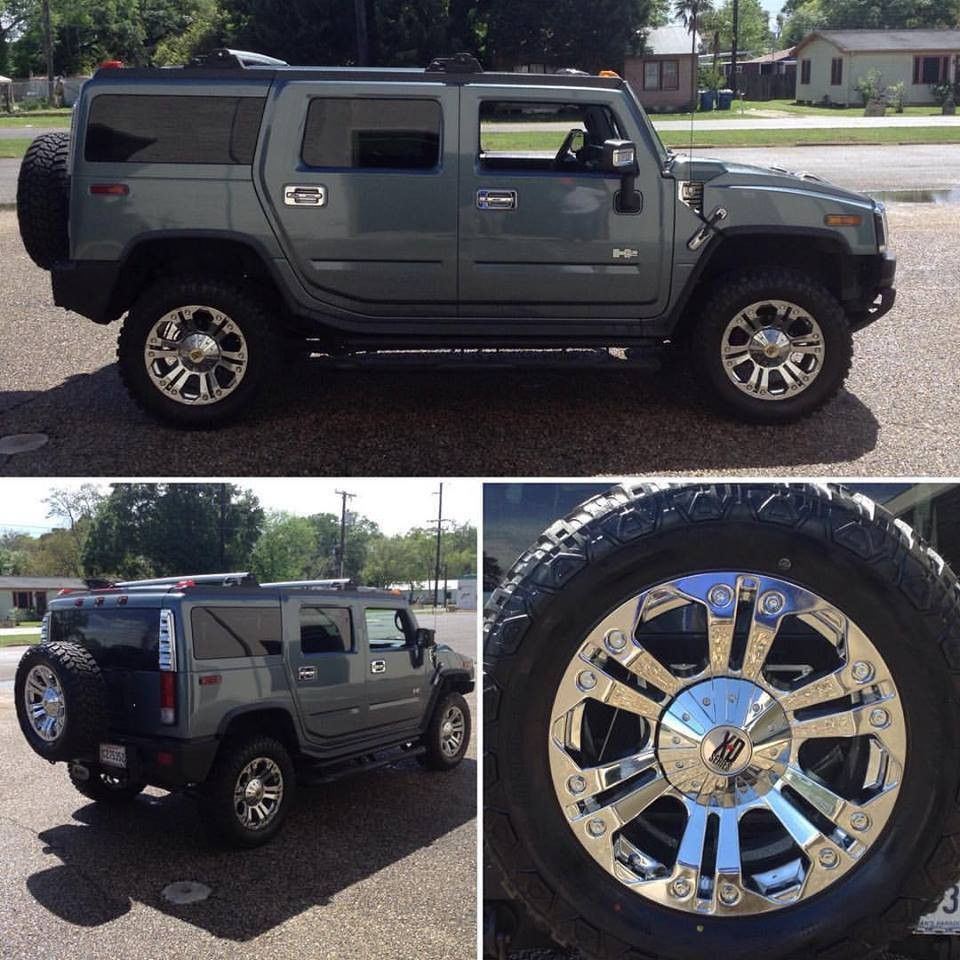 20 inch XD Series wheels on Hummer