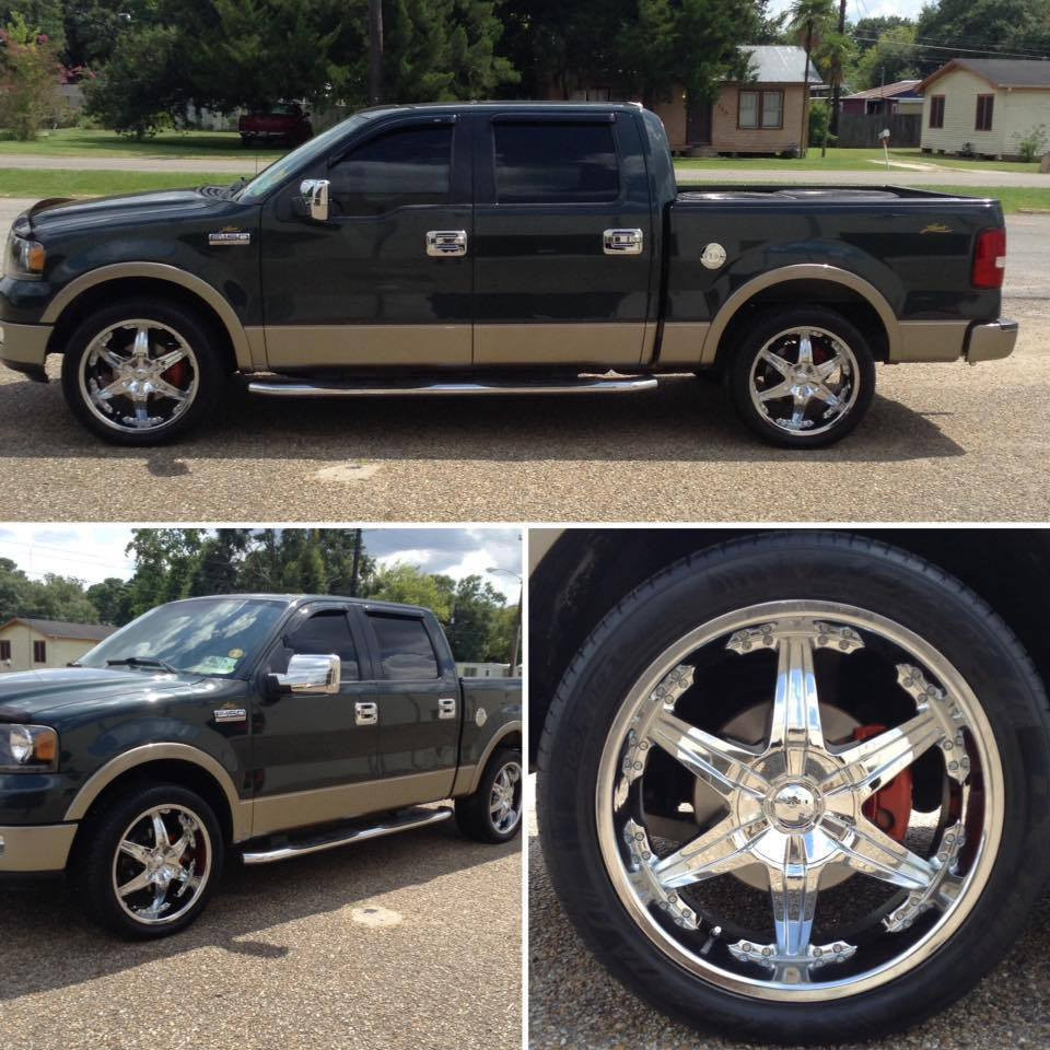 Ford F150 22 inch Star Chrome Wheels and Rims