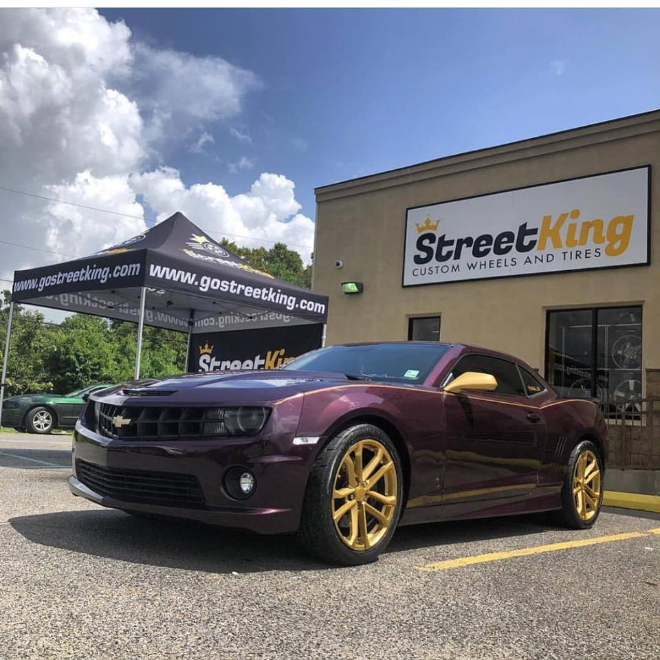 Custom Wheels And Tires In Houma Streetkings